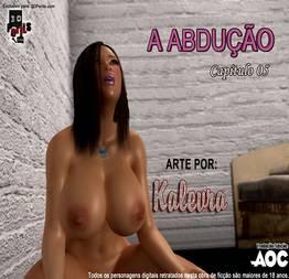 Estupro 3D Hentai quadrinhos eróticos 05