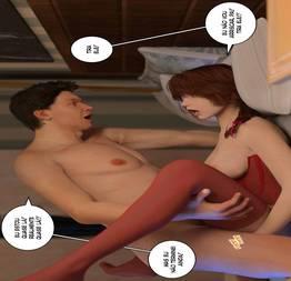 Quadrinhos erótico 3D Bad Boss 04