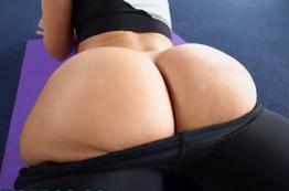Você consegue identificar essas pornstars apenas por sua bunda?