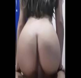 Novinha de Belo Horizonte do rabo gostoso sendo fodida com vontade no final de semana