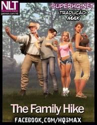 Quadrinhos 3D xxx: Boa foda em família