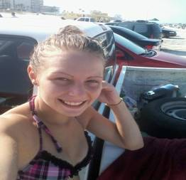 Michelle novinha safada perdeu o celular na praia e caiu na net