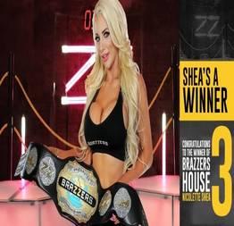 Nicolette Shea vence o reality show pornô Brazzers House 3