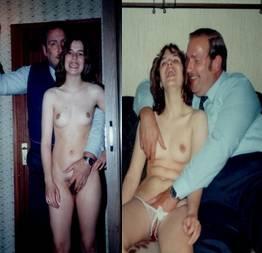 Fotos reais de incesto entre pai e filha