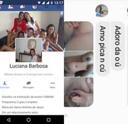 Luciana coroa baianinha safadinha mandou nudes pro seu amante caiu no whatsapp