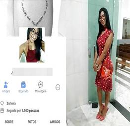Morena crente teve fotos vazadas no facebook