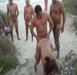 Surubão na praia