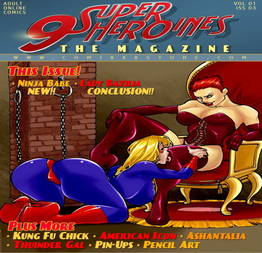 9 Super Heroines