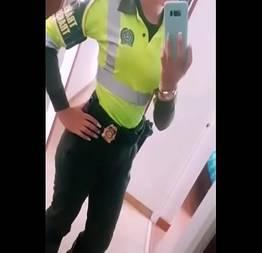 Alicia guarda municipal caiu na net