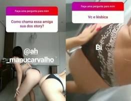 Amigas safada fizeram putaria no instagram