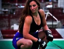 Famosa lutadora de UFC caiu na net pelada