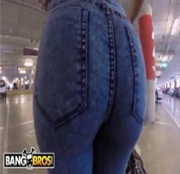 Sexo anal em publico na garagem aeroporto Franceska Jaimes - Bangbros   SO FODAS