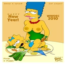 Marge Simpson tarada louca por sexo