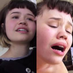 Novinha pagando a aula de piano para o professor com uma bela chupada