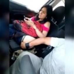 Pegando a sogra enxuta no carro