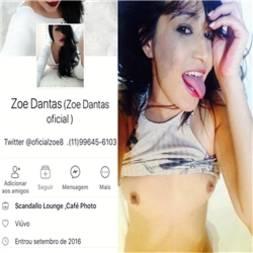 Zoe Dantas caiu na net mostrando tudo