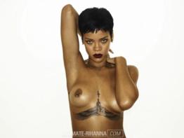 Novas fotos íntimas de Rihanna nua