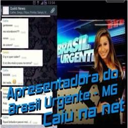 Cathe Oliveira do Brasil Urgente de Minas Gerais caiu na net