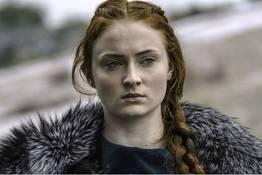 Sophie Turner flagra nua topless a atriz que faz Sansa Stark em Game Of Thrones
