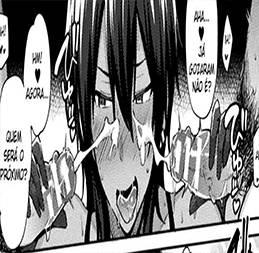 Novinha adora receber leitinho quente no rosto