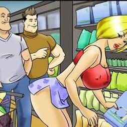 a vadia do super mercado