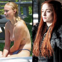 Sophie Turner Sansa Stark Nua Caiu na Net