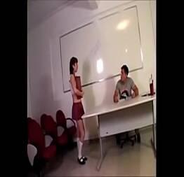 Vagabunda Penelope com o seu professor