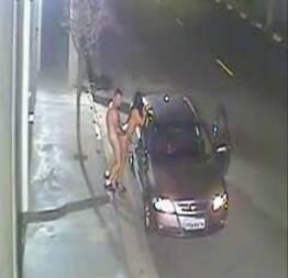 Casal fodendo na estrada em flagrante real caiu na net