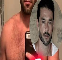 Sérgio Marone posta foto com abdômen trincado e sua quase nudes surpreende!