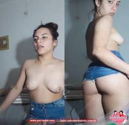 Minha Esposa Fez Uma Live Ao Vivo Mostrando Os Peito E A Bunda #88 - Novinha Do Zap Safada