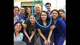 Coroa sacana trassando a auxiliar de enfermagem