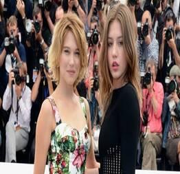 Léa seydoux e adèle exarchopoulos peladas em cena muito quente de sexo em filme