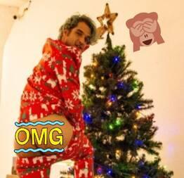 O astro Tyler posey aprontou todas nesse natal