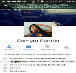 Caiu na Net Samyra Novinha Safada do Facebook