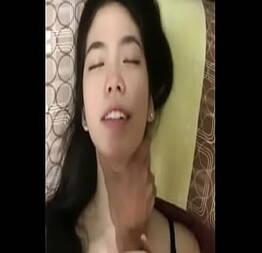 Sexo pesado com linda coreana