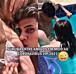 Suruba Entre Amigos Em Meio Ao Coronavírus Vip 2021 - Novinha Do Zap Safada