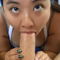 Novinha asiática fazendo chupeda na rola grossa ganhou leitinho - Tudanovinha