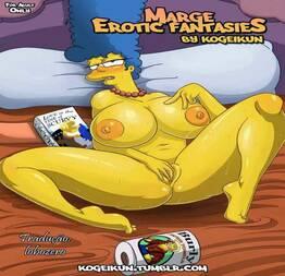 As fantasias eróticas de Marge - HotHentai