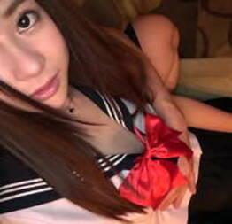 Bela japonesa fodida em traje de menina da escola - Japa Sexy