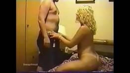 VHS - Gang bang com a loira