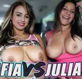 BANGBROS - Battle Of The Latin GOATs: Sofia Nix VS Juliana! - Condor Sexy