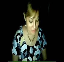 Caiu na webcam msn Ana