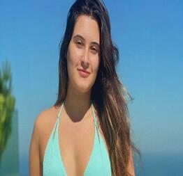 Filha de Fátima Bernardes choca a web ao posar com seu menor fio-dental Que corpão!  | Fotos das mais gostosas