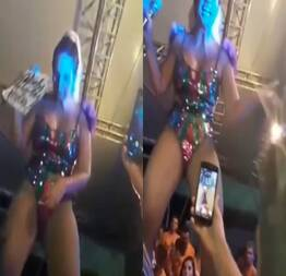 Relembrando, Valesca Popozuda, mostrando a pepeca no carnaval