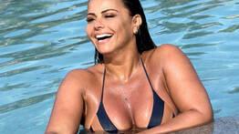 Viviane Araujo revista Sexy - QueroFoder.com