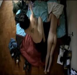 Leandra leal e luciana brites peladas no filme nome próprio