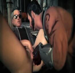 Mortal Kombat Johnny Cage Gay gamer porn Hentai