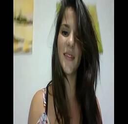 Novinha gatinha gostosa nua na webcam