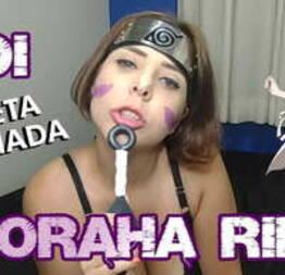 Cosplay Girl @Mary_RedQueen Noraha Rin NARUTO JOI PORTUGUES JERK OFF INSTRUÇÃO - PUNHETA GUIADA - MASTURBAÇÃO - Condor Sexy