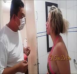Mulher do senador ines ventura faz escândalo no spa no dia da noiva e ganha uma massagem gratuita a 4 mãos paty
